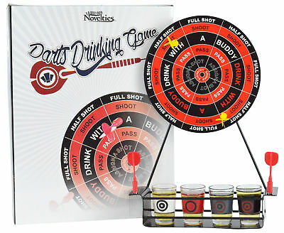 Darts Shots Novelty Drinking Game - Magnetic Board Game Giftable Party Set NIB (Novelty Game)