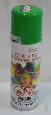 St. Patricks Day Green Bright Color Temporary Costume Hair Color - Costume Hair Color