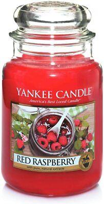 """YANKEE CANDLE - GIARA GRANDE - """"RED RASPBERRY"""" - 623G - 1323186E"""