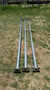 3x Galvanized Steel Acrow Props Mundijong Serpentine Area Preview