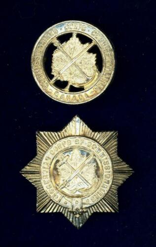 Obsolete Canadian Corps of Commissionaires cap & breast badge circa 1950s -1960s