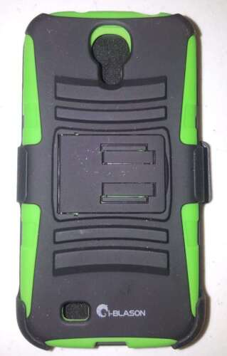 NEW! i-Blason Durable Phone Case For Galaxy S4 Prime Belt/Po