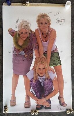 """DIXIE CHICKS 1/2 Size PROOF w/OVERLAY CORRECTIONS 21-1/4""""x 33-1/4"""" One-Of-A-Kind"""