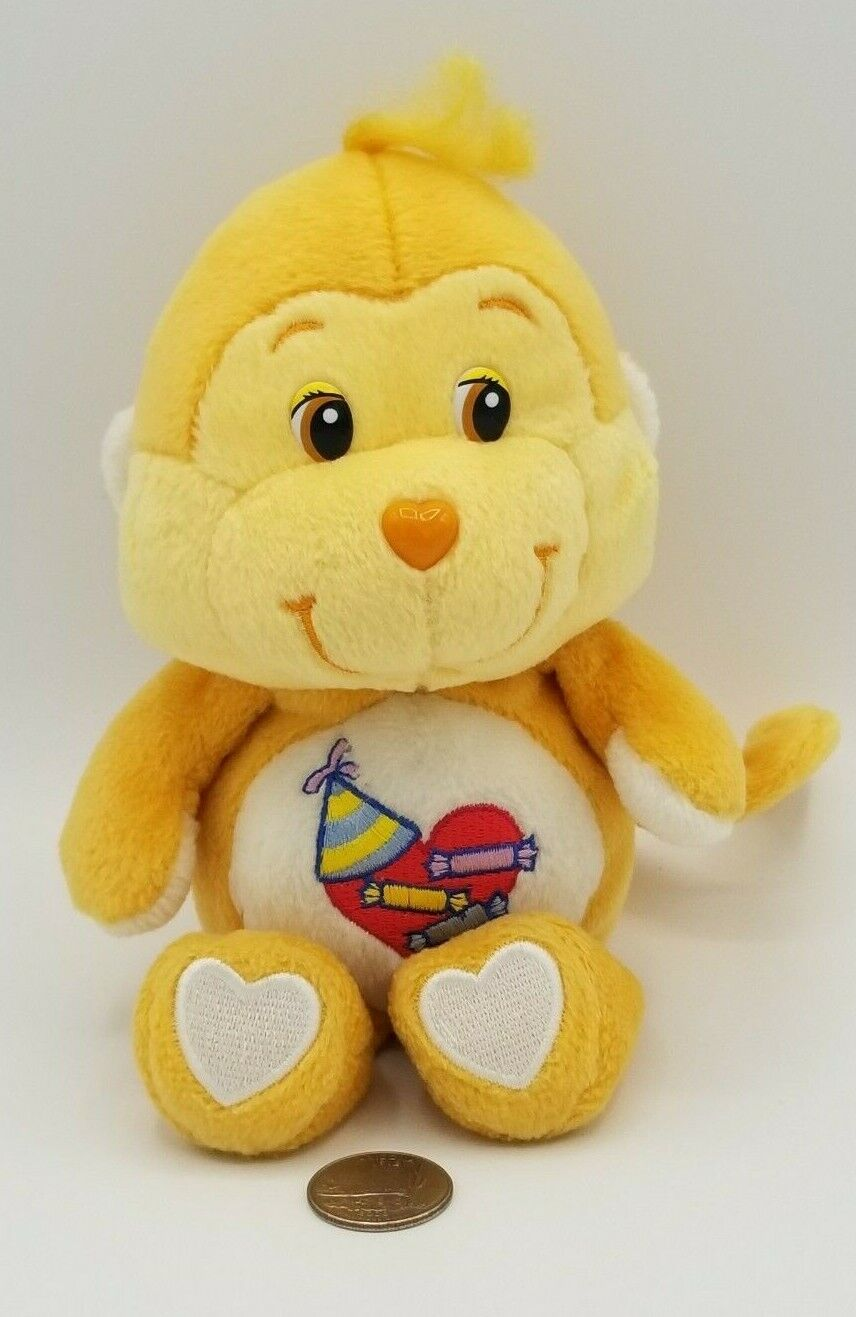 Care Bear Cousins Playful Heart Monkey 7.5 20th Anniversary 2002 Hot Topic Rare - $10.00