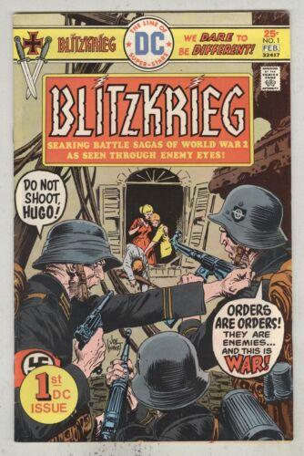Blitzkrieg #1 February 1976 VG +