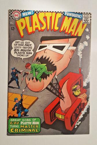 PLASTIC MAN #4 Infantino Cover (1967 DC)