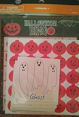 HYDE AND EEK 24 Player Set BINGO Party Supplies GAME Monsters HALLOWEEN - Halloween Themed Games Party