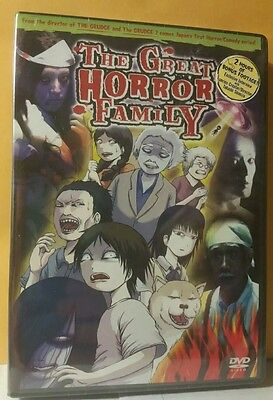 Great Horror Family - Complete Collection (DVD, 2006, 3-Disc - Great Family Halloween Movies