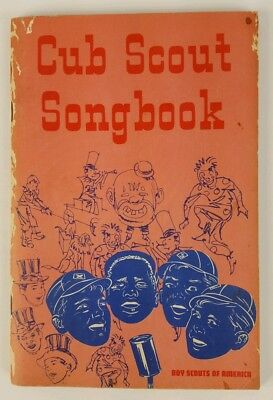 Cub Scout Songbook Copyright 1969 Boy Scouts of America