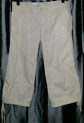 Hollister Capri Pants HCO Size 3 Lace On Waist / Leg Opening -Or Best Offer