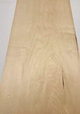 Maple Wood Veneer 4 Sheet 33x 14.5 13 Sq Ft