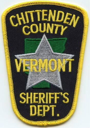 CHITTENDEN COUNTY VERMONT VT SHERIFF POLICE PATCH