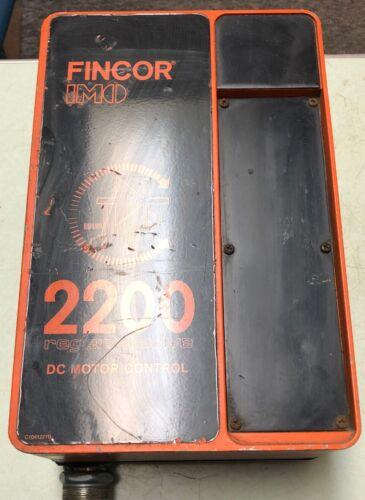 Fincor IMO 2200P 1042164-1 REV:F 1042045-01 REV:G Regenerative DC Motor Control