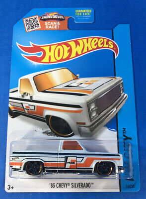 Hot Wheels '83 CHEVY SILVERADO Truck in White from Toys R Us Store Exclusive