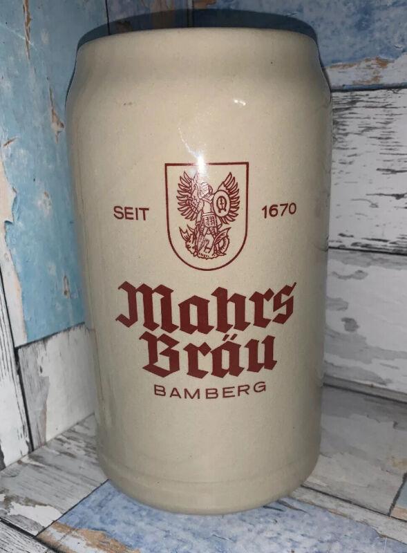Mahrs Brau Bamberg 1 Liter Ceramic Stein