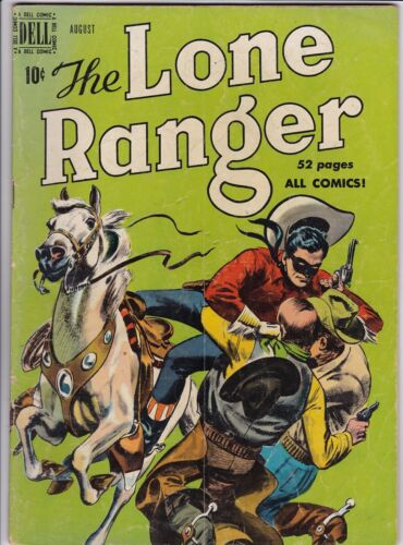 LONE RANGER # 26 DELL PUBLISHING - TONTO - SILVER - SCOUT