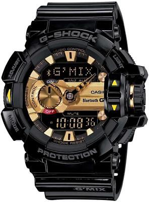 Used, NEW G-SHOCK GBA400-1A9 BLUETOOTH G'MIX MUSIC CONTROL 200M Men's Watch for sale  Shipping to Canada