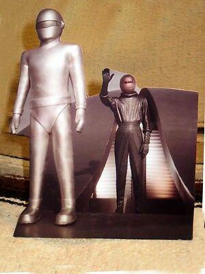 """1951 The Day the Earth Stood Still Robot Gort Sepia Tabletop Display Standee 9"""""""