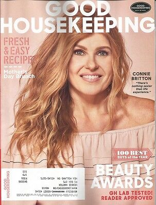 Good Housekeeping Magazine May 2017   Connie Britton Cover   Beauty Awards