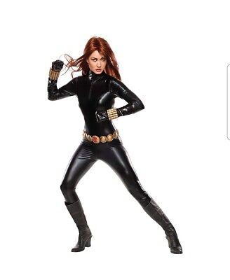 Black Widow Grand Heritage Marvel Superhero Fancy Dress Sexy Adult Costume - Black Widow Costume Adult