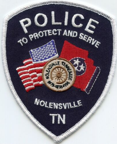 NOLENSVILLE TENNESSEE TN POLICE PATCH