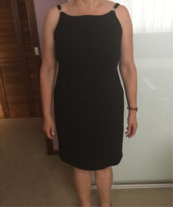 Black evening dress size 16 Auburn Auburn Area Preview