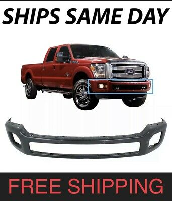 Front Bumper Primed Paint to Match For 2011-16 Ford F-250 F-350 Super Duty CAPA