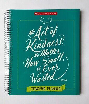 Teacher Plan Book Calendar Planner Scholastic Kindness Teaching Supplies K-6
