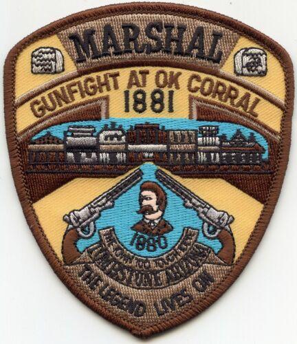 TOMBSTONE ARIZONA AZ Gunfight At OK Corral MARSHAL POLICE PATCH