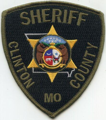 CLINTON COUNTY MISSOURI MO SHERIFF POLICE PATCH