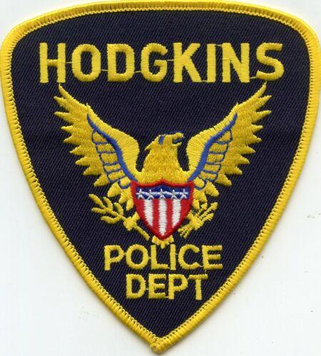 HODGKINS ILLINOIS IL POLICE PATCH