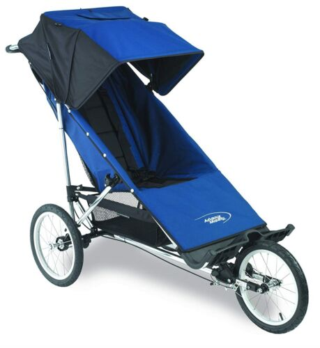 Advance Mobility Freedom Special Needs Push Chair Stroller Navy NEW