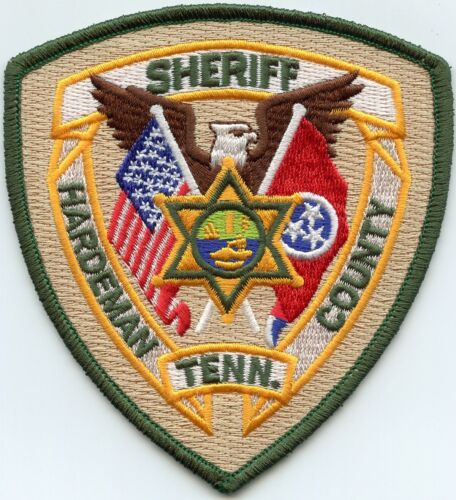HARDEMAN COUNTY TENNESSEE TN SHERIFF POLICE PATCH