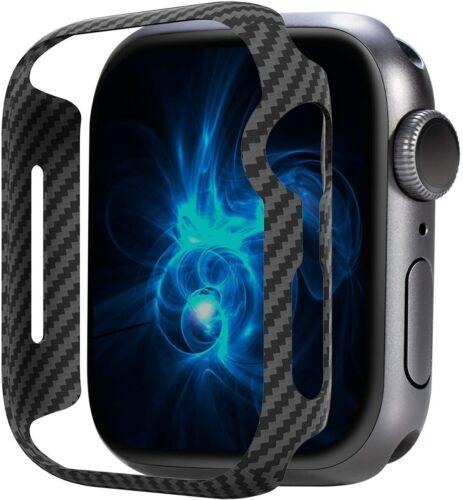 Carbon fiber case, suitable for 40 44 Apple Watch Series 6 SE 5 4
