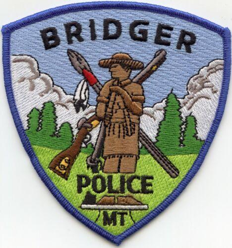 BRIDGER MONTANA MT POLICE PATCH