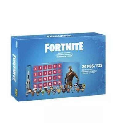 Fortnite Advent Calendar * 24 Pc Funko Pop! Pint Size Heroes Pocket Mini Figures