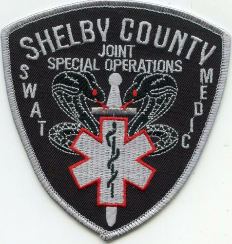 SHELBY COUNTY TENNESSEE TN Special Ops SWAT MEDIC SHERIFF POLICE PATCH