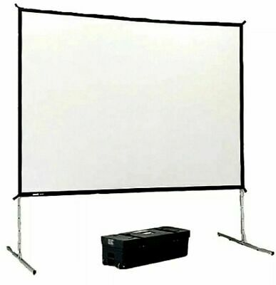 Da-lite Fast Fold 6 X 8 Screen And Frame W Wooden Storage Case