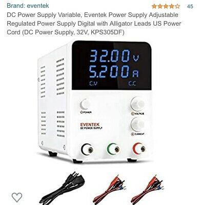 Dc Power Supply Variable Eventek Power Supply Adjustable Regulated Power Supply