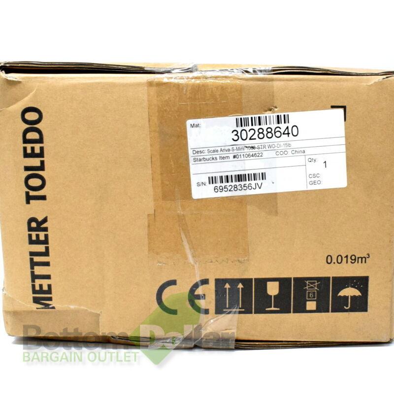 Mettler Toledo Ariva-S-Mini-1080-STR WO-DI-15lb Point of Sale Scale