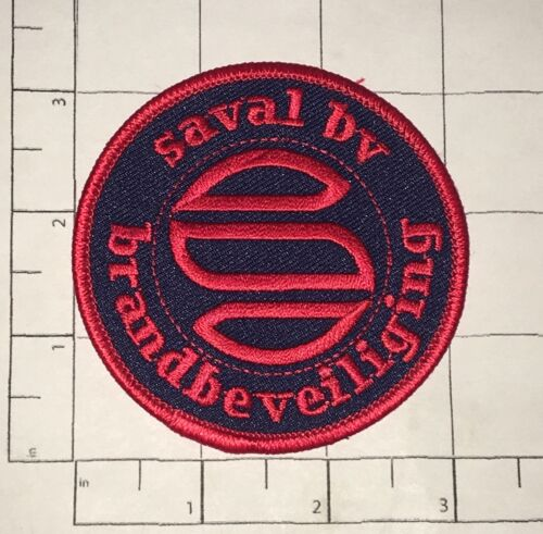 Saval BV Patch - Brandbeveiliging - Fire Fighting Products