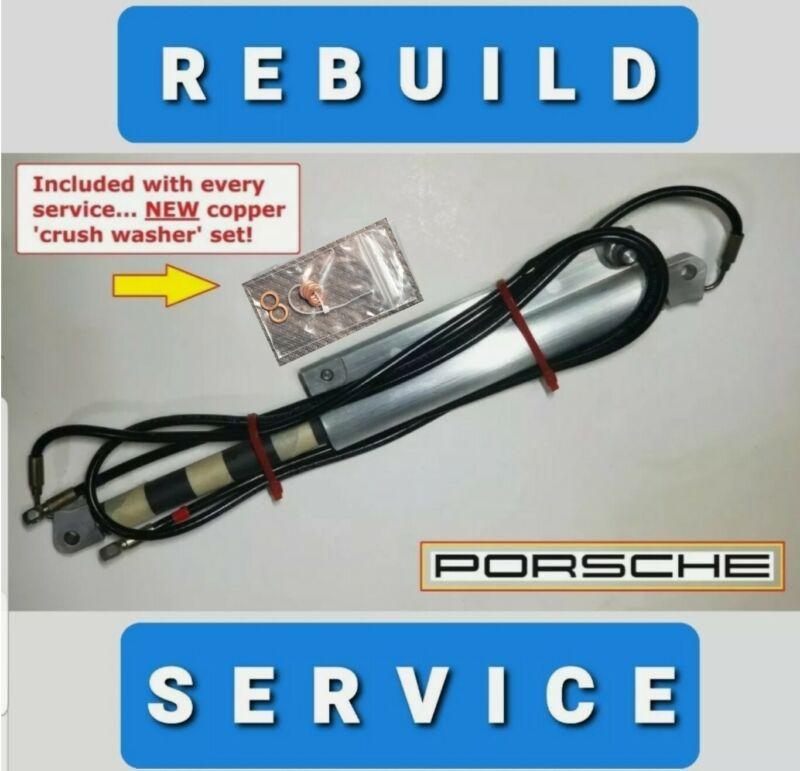Porsche Convertible Top Hydraulic Cylinder REBUILD SERVICE 911 996 997 refurbish