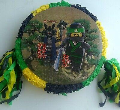 Lego Ninjago Pinata..Party Game Decoration FREE SHIPPING