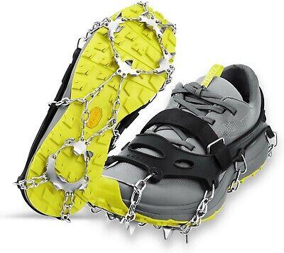 S//M//L//XL Outdoor Walking Snow Ice Mud Anti-slip Shoe Grip  Ct Crampon