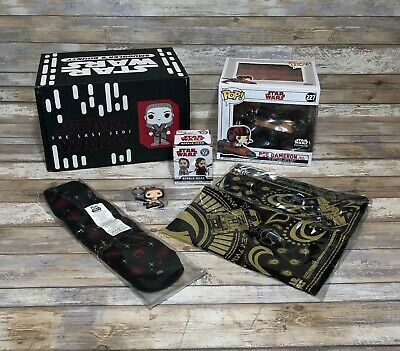 Rare Smugglers Bounty Star Wars The Last Jedi Box Complete Funko Pop 227