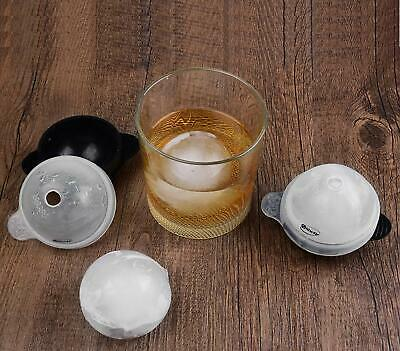 Ice Ball Mold Ice Silicone Sphere Ball Whiskey 2.5 Trayround Ice Cube Molds