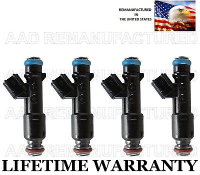 (*LIFETIME WARRANTY* Genuine Set Of 4 Fuel Injectors For Suzuki Reno Forenza 2.0L)