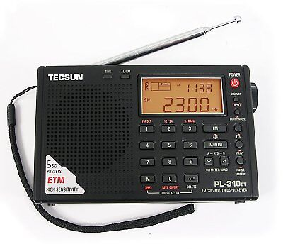 TECSUN PL310ET AM FM Radio LCD Stereo Radio Player LW SW DSP World Band Receiver