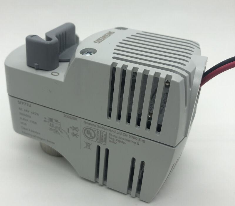Siemens SFP71U Zone Valve Actuator 24v AC 9.8A **NEW** Open Box