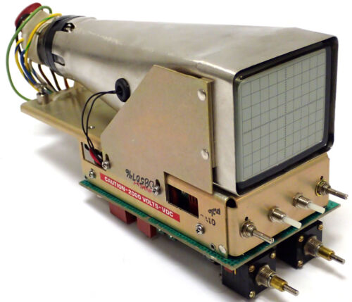IFR FM/AM-1200A COMMUNICATIONS SERVICE MONITOR CRT POWER SUPPLY & CONTROLLER